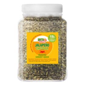 Jalapeno Cheddar Flavored Edible Crickets