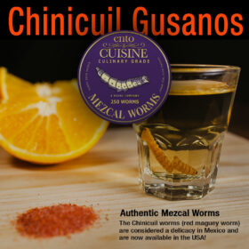 Chinicuil Gusanos