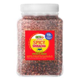 Sriracha Flavored Edible Crickets
