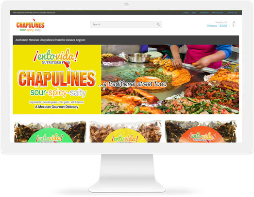 Buy Chapulines in USA