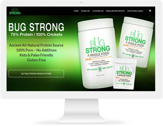 Bug Strong Protein Powder